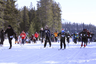 Cross Country Ski Loppet.  Photo courtesy of the Crowsnest Pass Promoter